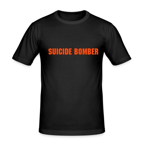 Suicide Bomber - Men's Slim Fit T-Shirt