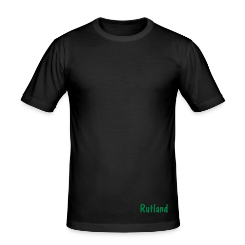 Rutland Fitted Tee - Black - Men's Slim Fit T-Shirt
