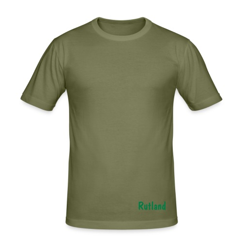 Rutland Fitted Tee - Camel - Men's Slim Fit T-Shirt