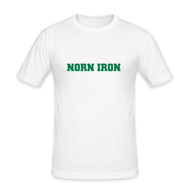 White Norn Iron Hanes Fit-T