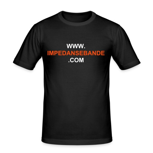 IMPEDANSEBANDE.COM - Slim Fit T-skjorte for menn