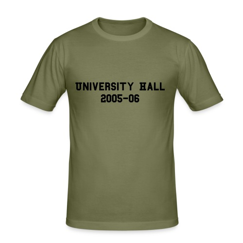 University Hall 2005-06 Mens t-shirt - Men's Slim Fit T-Shirt
