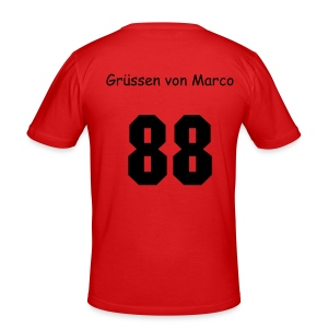 slim fit T-shirt - Soccer, man, voetbal,  Online Shirt shop