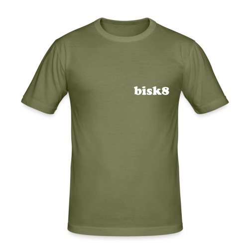 bisk8-simple - T-shirt près du corps Homme
