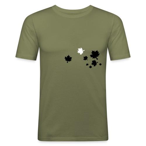 CF Leaves - Men's Slim Fit T-Shirt