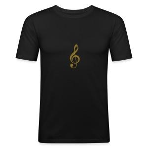 MAXI SINGLE 33 RPM - Männer Slim Fit T-Shirt