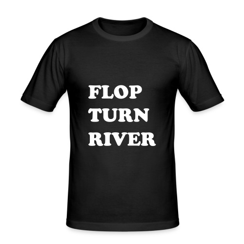 poker - slim fit T-shirt