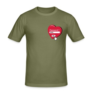 Tshirt de chasteté (recto) - Tee shirt près du corps Homme