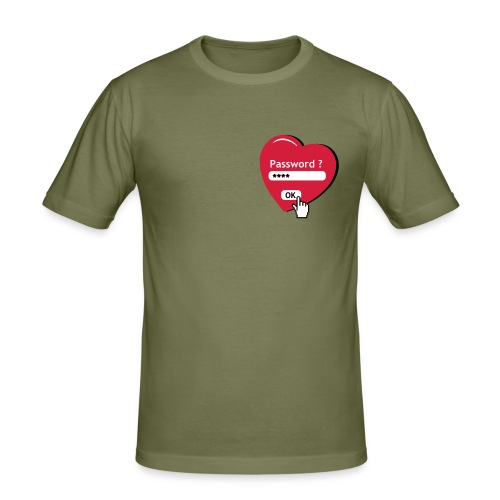 Tshirt de chasteté (recto) - T-shirt près du corps Homme