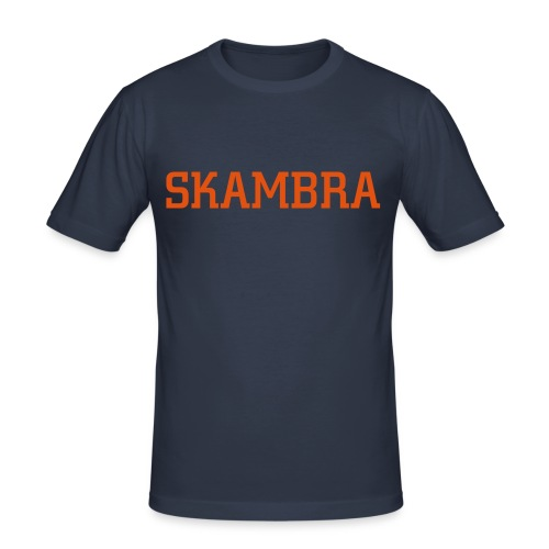 SKAMBRA - pivi - Slim Fit T-skjorte for menn
