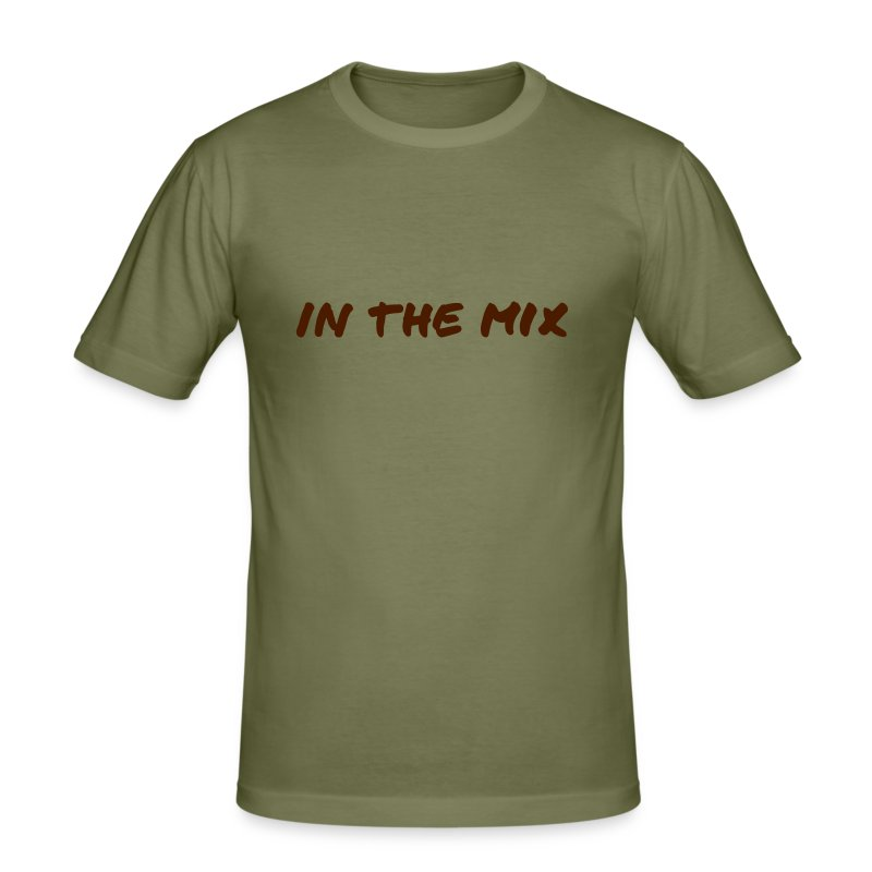 InTheMix brown on Camel - slim fit T-shirt