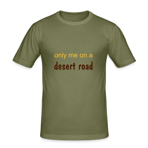 Desert Road Shirt - Männer Slim Fit T-Shirt