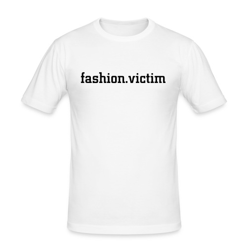 fashion.victim - Männer Slim Fit T-Shirt