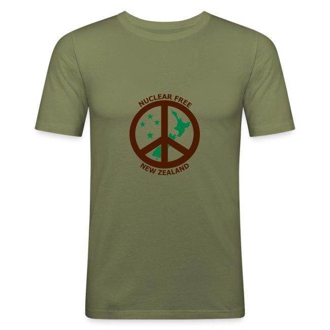 Nuclear Free Mens T-shirt