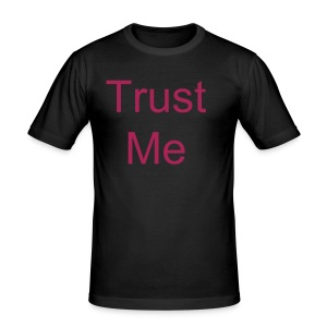 trust me - Men's Slim Fit T-Shirt