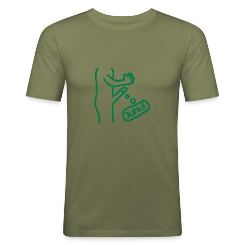 Juhu! - Männer Slim Fit T-Shirt