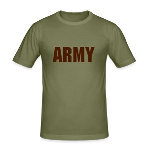 Fashion Army Logo T-Shirt - Men's Slim Fit T-Shirt