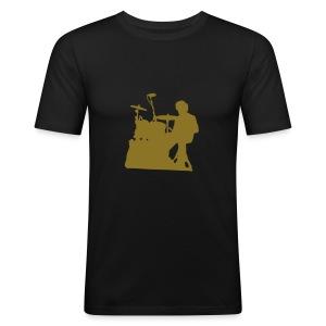 Tee-Shirt Couleur Simon Ombré - Tee shirt près du corps Homme