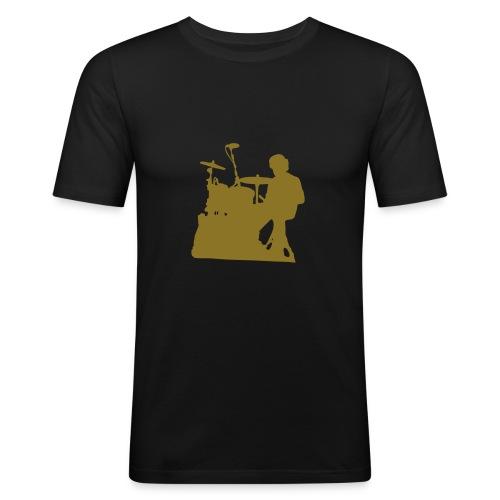 Tee-Shirt Couleur Simon Ombré - T-shirt près du corps Homme