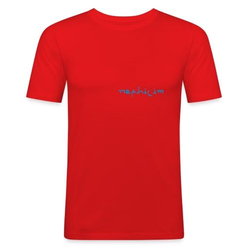 lactophobia sonic images - Männer Slim Fit T-Shirt