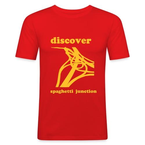 Spaghetti Junction - Men's Slim Fit T-Shirt