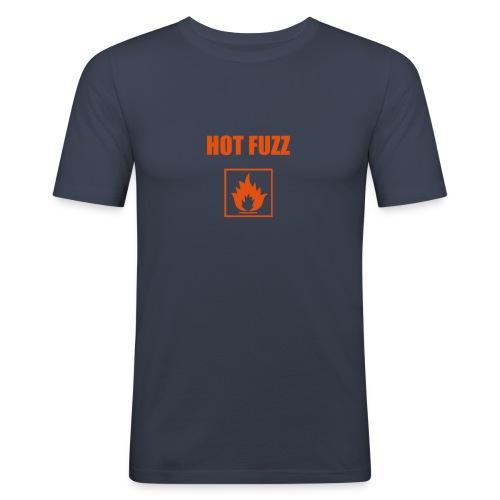 Hot Fuzz Baby! - Men's Slim Fit T-Shirt