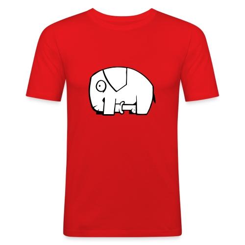 Unanständiger Elefant - Männer Slim Fit T-Shirt