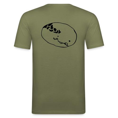 monster - slim fit men - Männer Slim Fit T-Shirt