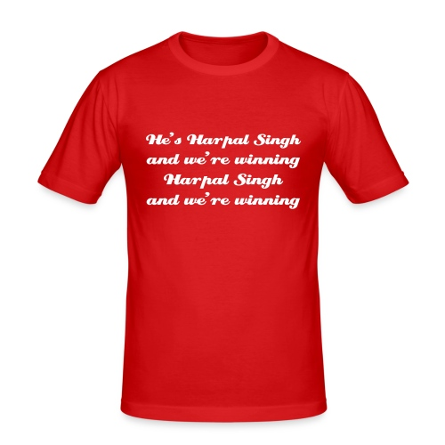Singh and we're winning - T-Shirt - Men's Slim Fit T-Shirt