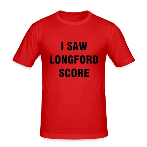 I Saw Longford Score - T-Shirt - Men's Slim Fit T-Shirt