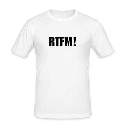 RTFM! - slim fit T-shirt