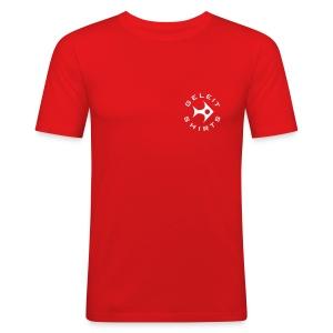 Geleit Shirt - Männer Slim Fit T-Shirt