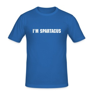 Spartacus Blue - Men's Slim Fit T-Shirt