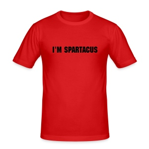 Spartacus Orange - Men's Slim Fit T-Shirt