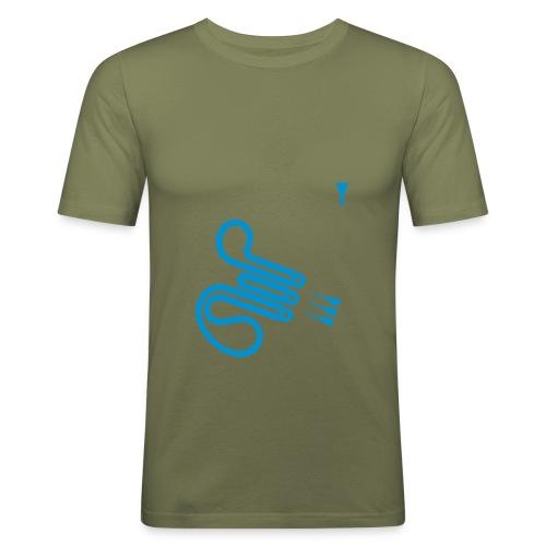 Waldhorn (camel) - Männer Slim Fit T-Shirt