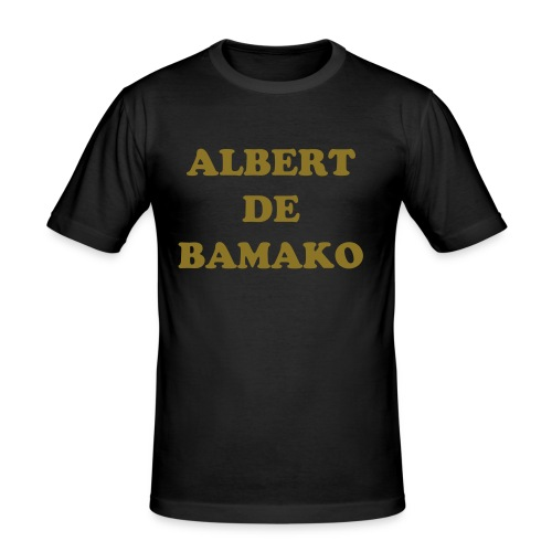 Albert king or/noir - T-shirt près du corps Homme