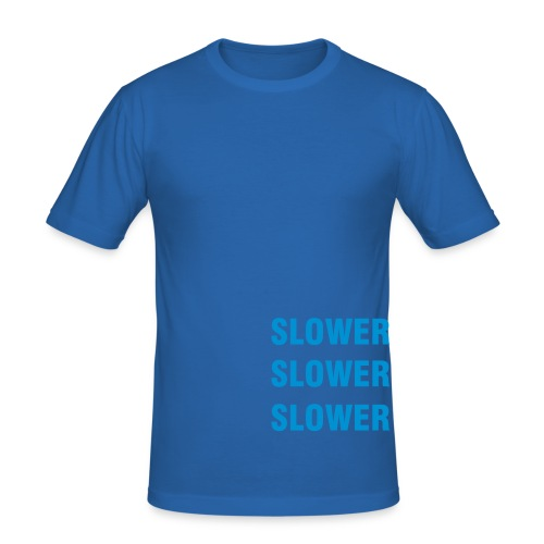 Triple Slower - Men's Slim Fit T-Shirt