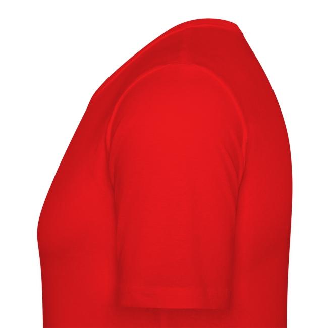 tee shirt personnalisé rouge avec prénoms personnalisables