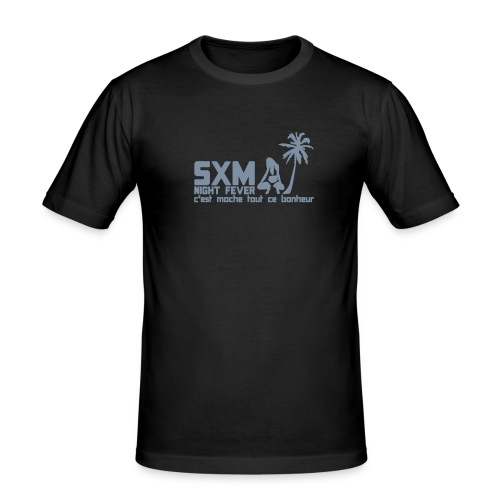 SXM Night fever - T-shirt près du corps Homme
