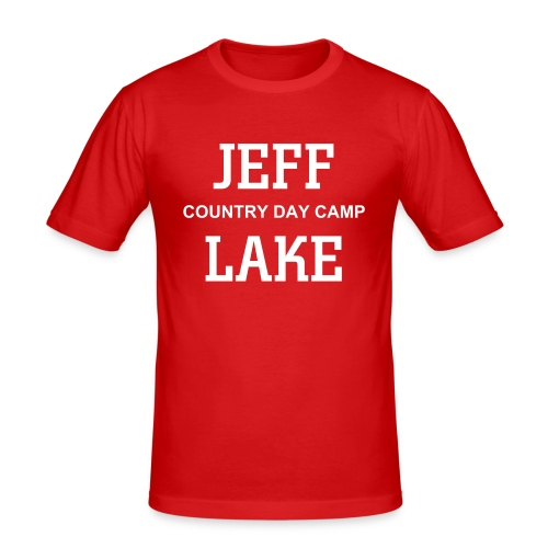 Jeff Lake - Men's Slim Fit T-Shirt