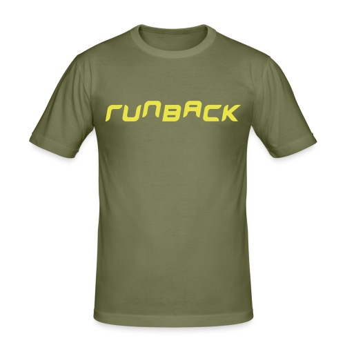 runback - Men's Slim Fit T-Shirt