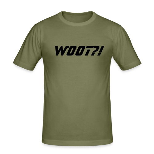 W00T?! - Men's Slim Fit T-Shirt
