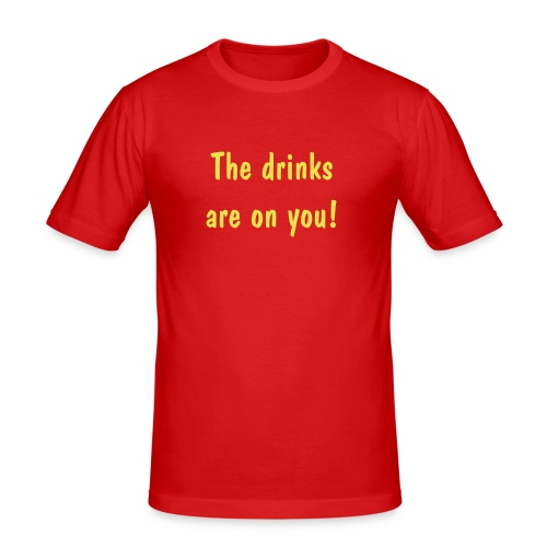 Party - Men's Slim Fit T-Shirt
