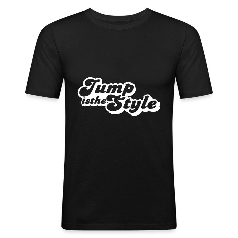 slim fit T-shirt - heren shirt jumpisthestyle