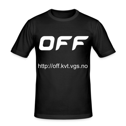 OFF-medhjelper - Slim Fit T-skjorte for menn