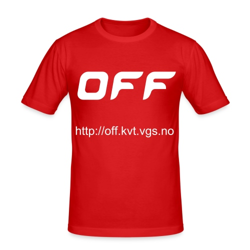 OFF-medlem - Slim Fit T-skjorte for menn