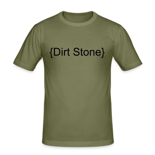 Dirt Stone - Men's Slim Fit T-Shirt
