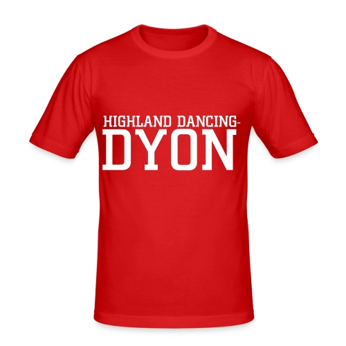 Highlanddancing-dyon.nl shirt - slim fit T-shirt