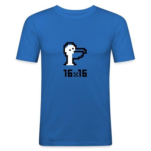 16x16 ouazo 5 - T-shirt près du corps Homme