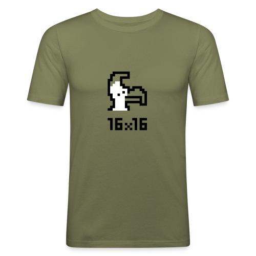 16x16 ouazo 6 - T-shirt près du corps Homme